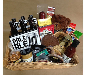 Food Basket with Pale Ale in Portland OR, Portland Bakery Delivery
