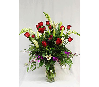 The Red Rose Spectacular in Macon GA, Lawrence Mayer Florist