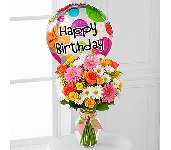 The Birthday Cheer� Bouquet by FTD� in Kingston ON, Pam's Flower Garden