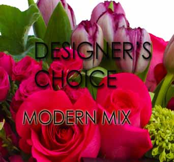 Designer''s Choice Modern Mix in Santa Monica CA, Edelweiss Flower Boutique