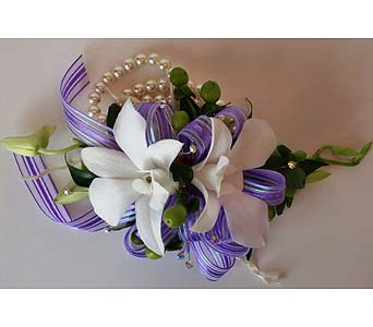 Dendrobium Orchid Corsage in Nashville TN, Flowers By Louis Hody