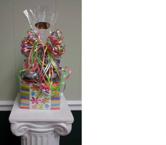Daisy-A-Day Gourmet Box in Athens GA, Flower & Gift Basket