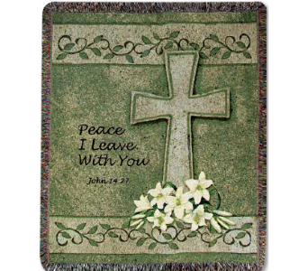 Peace I Leave With You in Indianapolis IN, McNamara Florist