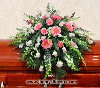 Serenity Casket Spray in Ogden UT, Jimmy's Flowers