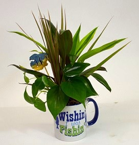Fishing Mug Planter in Perrysburg & Toledo OH  OH, Ken's Flower Shops