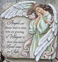 Memorial Angel Plaque in Perrysburg & Toledo OH  OH, Ken's Flower Shops