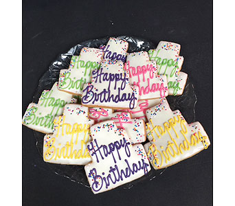 Happy Birthday Cookies in Portland OR, Portland Bakery Delivery