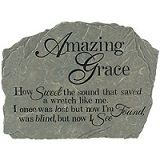 Amazing Grace Garden Plaque in Perrysburg & Toledo OH  OH, Ken's Flower Shops
