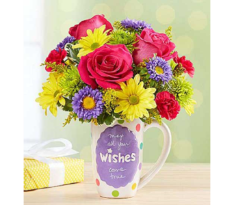 Mugable Best Wishes in El Cajon CA, Conroy's Flowers