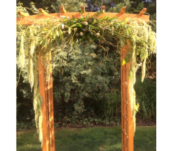 Wedding arch in Portland OR, Portland Florist Shop