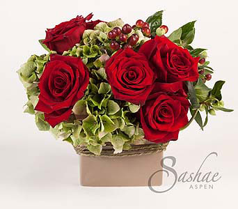 Scarlet in Aspen CO, Sashae Floral Arts & Gifts