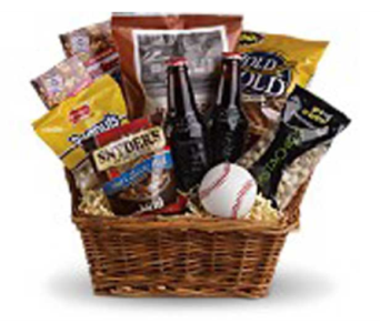 Take Me Out to the Ballgame Basket in Portland OR, Portland Bakery Delivery