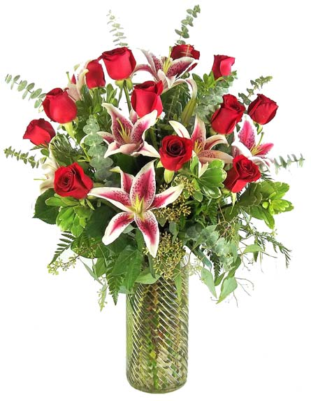 Gazers and Corazon Roses in Las Vegas NV, A French Bouquet