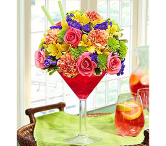 Sangria Bouquet in Las Vegas NV, A French Bouquet