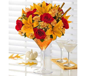 Martini Bouquet™ Pumpkin Spice in Las Vegas NV, A French Bouquet