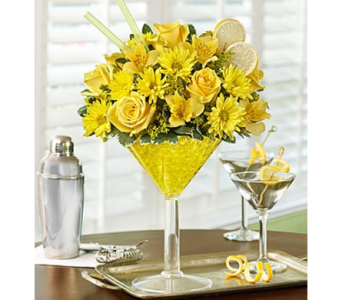 Lemon Martini Bouquet™ in Las Vegas NV, A French Bouquet
