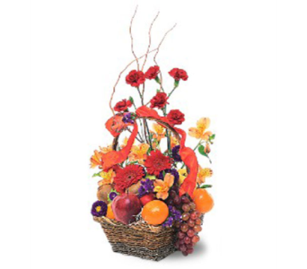 Fruits and Flowers Basket in Portland OR, Portland Bakery Delivery