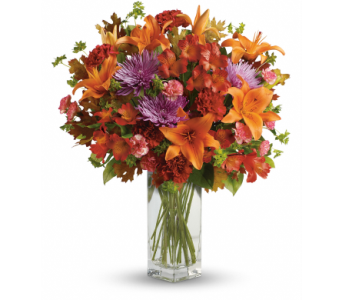 Teleflora's Fall Brights Bouquet in Flemington NJ, Flemington Floral Co. & Greenhouses, Inc.