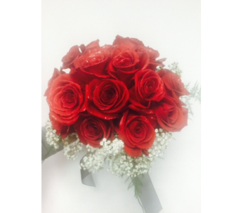 Red Roses Bridal Bouqet in Portland OR, Portland Florist Shop