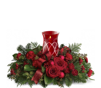 The FTD� Celebrate the Season� Centerpiece in Birmingham AL, Norton's Florist