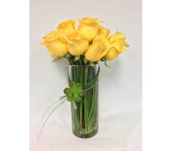 Yellow Rose Bouquet in Portland OR, Portland Florist Shop