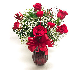 Forever Yours (Red) in Waltham MA, Waltham's Florist