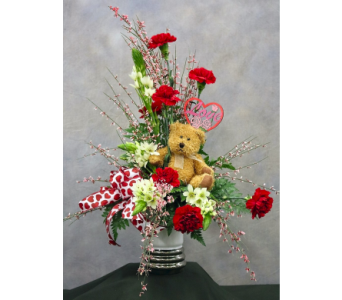 Beary Happy Valentine's in Kanata ON, Talisman Flowers