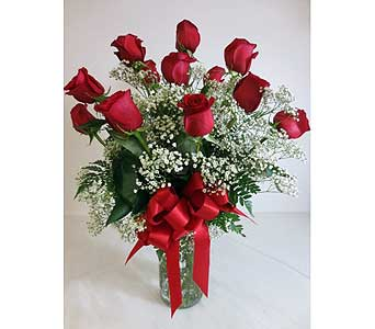 Dozen Red Roses in Flemington NJ, Flemington Floral Co. & Greenhouses, Inc.