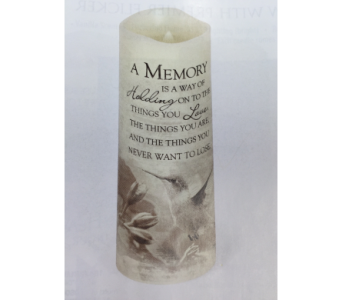 Candle-A Memory in Brownsburg IN, Queen Anne's Lace Flowers & Gifts