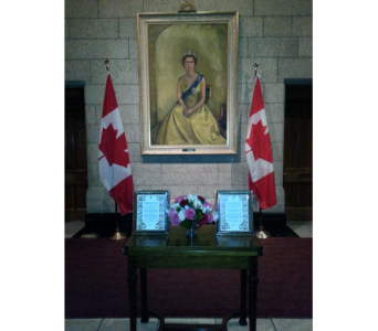 The Queen's Birthday Celebration in Ottawa ON, Exquisite Blooms