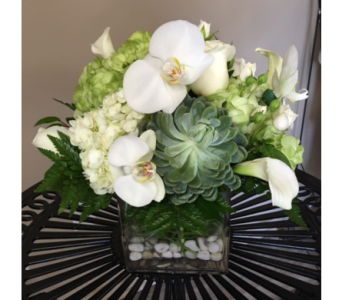 White Orchid Calla Bouquet in Portland OR, Portland Florist Shop