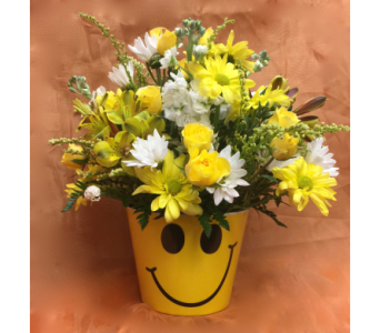 Big Smiles Bouquet  in Chicago IL, La Salle Flowers