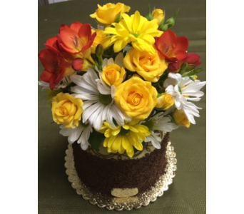 Freesia Heaven Cake in Portland OR, Portland Bakery Delivery