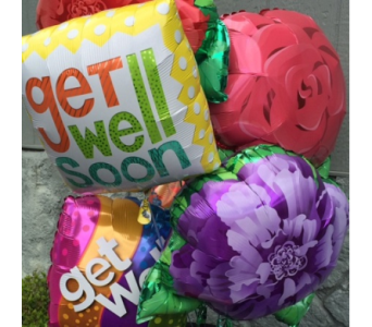 Get Well Balloon Bouquet in Portland OR, Portland Florist Shop