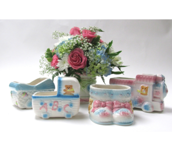 Welcome Baby in Flemington NJ, Flemington Floral Co. & Greenhouses, Inc.