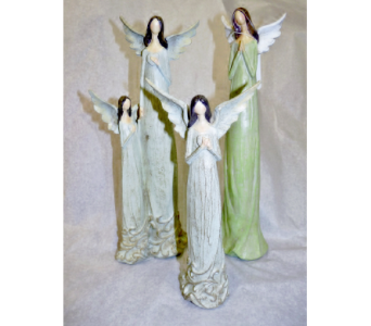 RESIN ANGEL STATUES in Pittsburgh PA, Harolds Flower Shop