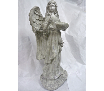 ANGEL STATUE in Pittsburgh PA, Harolds Flower Shop