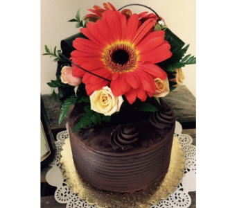 Gerbera Chocolate Cake in Portland OR, Portland Bakery Delivery