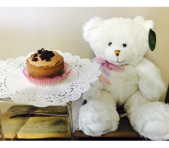 Teddy and Cake in Portland OR, Portland Florist Shop