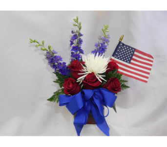 Red, White & Blue  in Henderson NV, Beautiful Bouquet Florist
