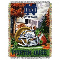 Notre Dame Football Helmet Throw in Perrysburg & Toledo OH  OH, Ken's Flower Shops