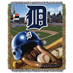 Detroit Tigers Throw in Perrysburg & Toledo OH  OH, Ken's Flower Shops