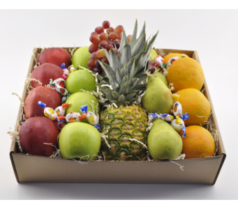 Fruit Gift Box in Austin TX, The Flower Bucket