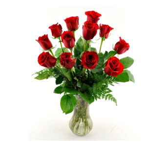 One Dozen Roses in Mesa AZ, Desert Blooms Floral Design