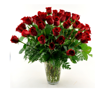 THREE DOZEN ROSES in Mesa AZ, Desert Blooms Floral Design
