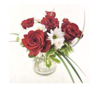 Rose Cylinder Red in Mesa AZ, Desert Blooms Floral Design