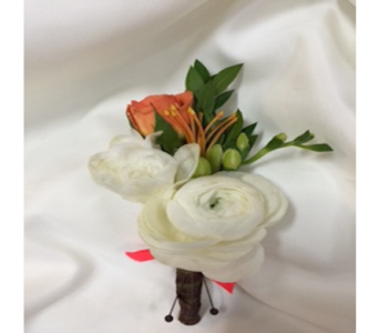 Into the Wild Boutonniere   in Estero FL, Petals & Presents