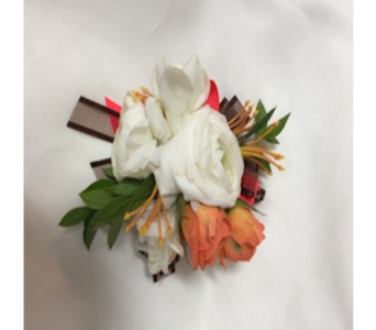 Into the Wild Corsage  in Estero FL, Petals & Presents