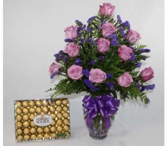 Romantic Intentions with Chocolates in Houston TX, Ace Flowers