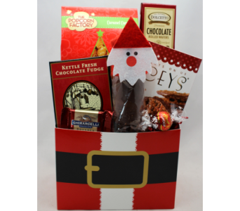 Ho Ho Holiday Gourmet Basket in Chicago IL, La Salle Flowers